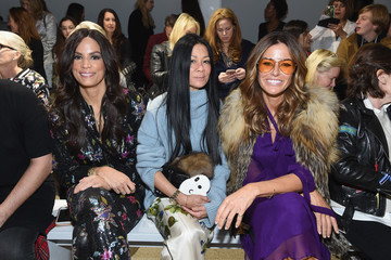 Veronica Webb Nicole Miller - Front Row - February 2019 - New York Fashion Week: The Shows
