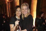 Alice Brauner (L) and Carola Ferstl attend the Veuve Clicquot Business Woman Award 2017 at The Grand on November 29, 2017 in Berlin, Berlin.