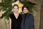 Pola Fendel (L) and Marie Nasemann attend the Veuve Clicquot Business Woman Award 2017 at The Grand on November 29, 2017 in Berlin, Berlin.