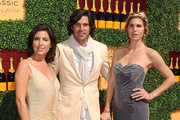 (L-R) Host Vanessa Kay, Host Nacho Figueras and Delfina Blaquier arrive at Veuve Clicquot Polo Classic Los Angeles at Will Rogers State Historic Park on October 9, 2011 in Los Angeles, California.