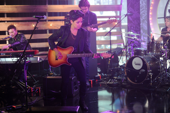 Musicians Perform at the O Music Awards