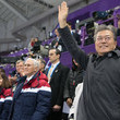 Moon Jae-In and Mike Pence