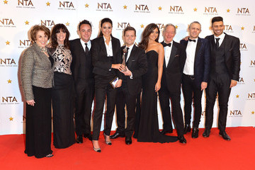 Vicki Michelle National Television Awards Winners Room