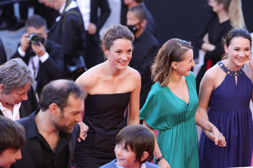 """Vicky Krieps Arieh Worthalter """"A Felesegam Tortenete/The Story Of My Wife"""" Red Carpet - The 74th Annual Cannes Film Festival"""