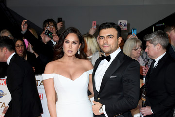 Vicky Pattison Ercan Ramadan National Television Awards 2020 - Red Carpet Arrivals