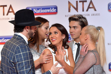 Vicky Pattison Ferne McCann National Television Awards - Winners Room