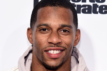 Victor Cruz Sports Illustrated's Fashionable 50 NYC Event