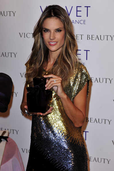 Victoria's Secret Beauty's Alessandra Ambrosio Introduces Velvet Collection