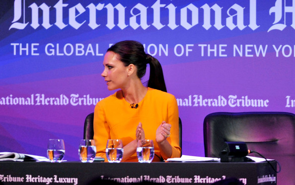 Victoria Beckham - International Herald Tribune Heritage Luxury Conference - Day 1