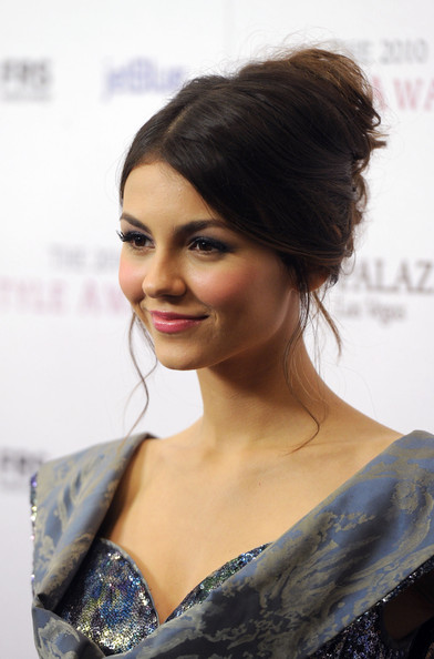 Victoria Justice Actress Victoria Justice arrives at the 2010 Hollywood Style Awards at the Hammer Museum on December 12, 2010 in Westwood, California.