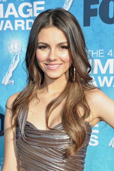 Victoria Justice Actress Victoria Justice arrives at the 42nd NAACP Image Awards held at The Shrine Auditorium on March 4, 2011 in Los Angeles, California.
