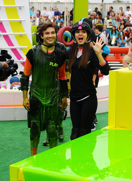Victoria Justice Taylor Gray and Victoria Justice participate in Nickelodeon's largest ever Worldwide Day of Play at the Ellipse on September 24, 2011 in Washington, DC.
