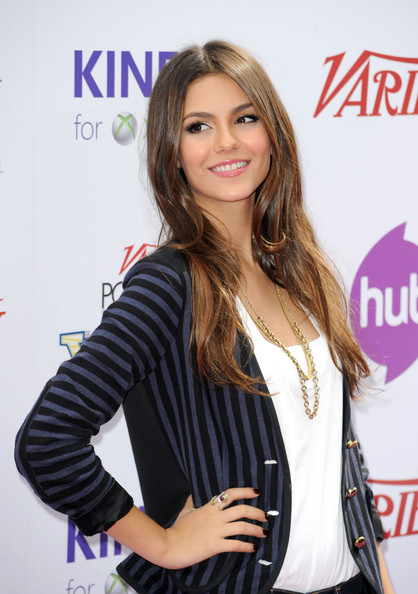 Victoria Justice Actress Victoria Justice arrives at Variety's 4th Annual Power of Youth event at Paramount Studios on October 24, 2010 in Hollywood, California.