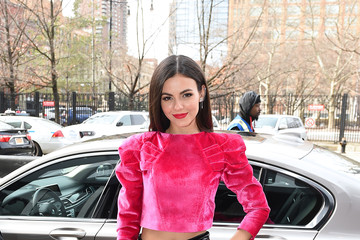 Victoria Justice IMG NYFW: The Shows 2020 Partners - February 12