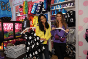 Chanel Iman and Lily Aldridge Photos Photo