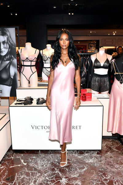 Victoria's Secret Celebrates New Fall Collection With Angel Jasmine Tookes In Atlanta