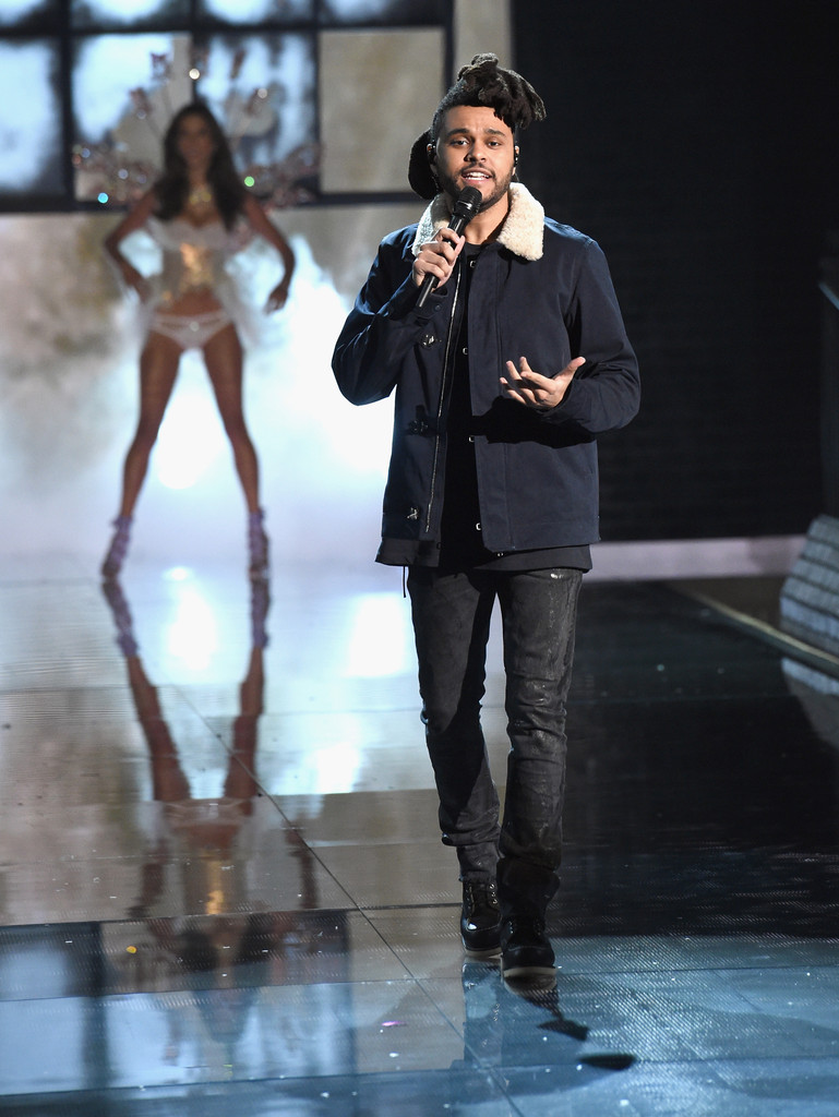 The Weeknd Photos Photos Victoria 39 S Secret Fashion Show