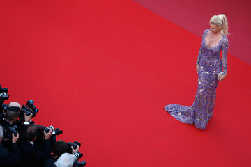 Victoria Silvstedt 'Ash Is The Purest White (Jiang Hu Er Nv)' Red Carpet Arrivals - The 71st Annual Cannes Film Festival