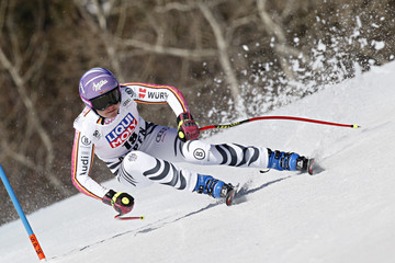 Viktoria Rebensburg Audi FIS Alpine Ski World Cup - Men's and Women's Super G