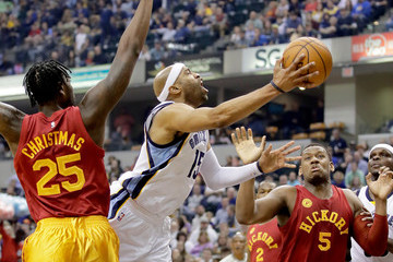 Vince Carter Memphis Grizzlies v Indiana Pacers