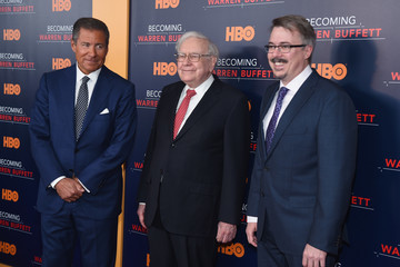 Vince Gilligan 'Becoming Warren Buffett' World Premiere - Arrivals