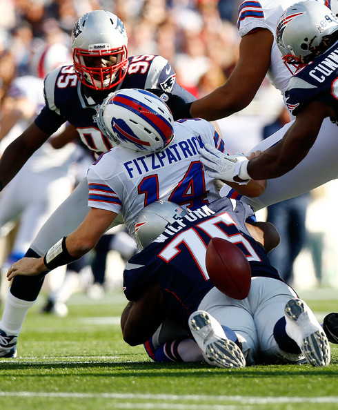 391b2f025 Vince Wilfork and Jermaine Cunningham Photos Photos - Buffalo Bills ...