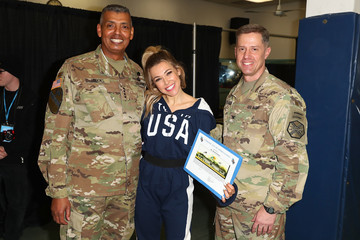 Vincent Brooks Team USA Military Celebration for the PyeongChang 2018 Winter Olympic Games