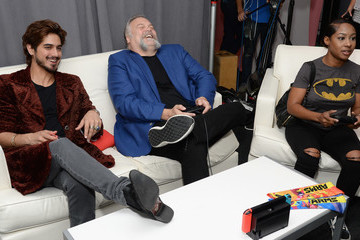 Vincent D'Onofrio Nintendo At The TV Insider Lounge At Comic-Con International 2017