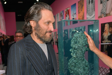 Vincent Gallo Diane Von Furstenberg's Journey Of A Dress Exhibition Opening Celebration - Inside