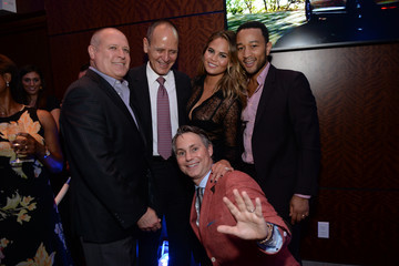 Vincent Sabio Chrissy Teigen Honored in NYC