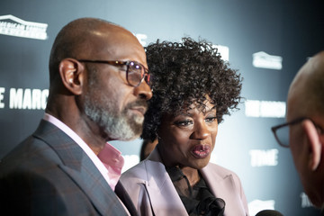 Viola Davis Julius Tennon TIME Launch Event For The March VR Exhibit At The DuSable Museum In Chicago, IL