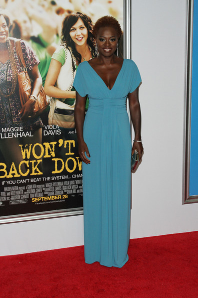 "Viola Davis - ""Won't Back Down"" New York Premiere"