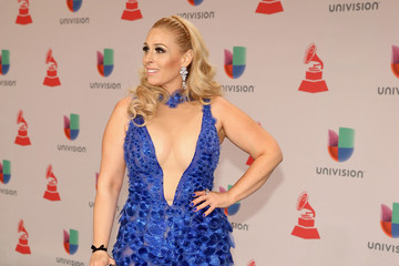 Violeta Martin Heineken, The Official Beer Sponsor Of The Latin GRAMMY Awards, Celebrates The Biggest Night In Latin Music At The 15th Annual Latin GRAMMY Awards - Green Carpet