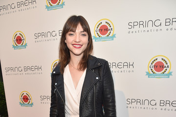 Violett Beane City Year Los Angeles Spring Break
