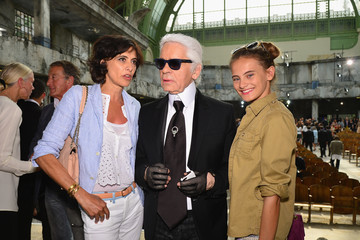 Violette d'Urso PFW: Front Row at Chanel