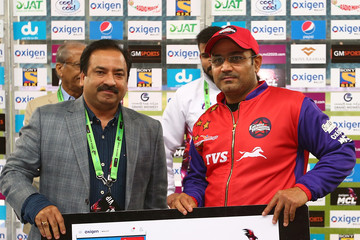 Virender Sehwag Semi Final 1 - Oxigen Masters Champions League 2016