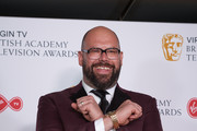 Tom Davis poses in the press room at the Virgin TV British Academy Television Awards at The Royal Festival Hall on May 13, 2018 in London, England.