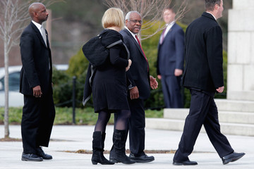 Virginia Thomas Funeral for Supreme Court Justice Scalia Antonin Scalia Held in Washington, D.C.
