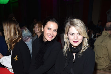 Virginie Ledoyen Sonia Rykiel: Front Row  - Paris Fashion Week Womenswear Fall/Winter 2017/2018