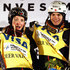 Justine Dufour-Lapointe Photos - (L-R) Justine Dufour-Lapointe of Canada and Mikael Kingsbury of Canada take the podium after earning the overall points leaders' jerseys in the FIS Freestyle Skiing Moguls World Cup at the Visa Freestyle International at Deer Valley on February 4, 2016 in Park City, Utah. - Visa Freestyle International - Day 1