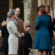 Viscount Severn The Royal Family Attend Church On Christmas Day