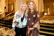 Rosanna Arquette and Cleo Wade attend Visionary Women celebrate Gloria Steinem in conversation with Cleo Wade at the Beverly Wilshire, A Four Seasons Hotel on November 18, 2019 in Beverly Hills, California.