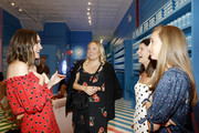 TV personality Louise Roe (L) attends the Vital Proteins Launches Feed Your Beauty Popup Store in Soho NYC on September 5, 2018 in New York City.