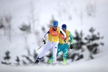 Vitaliy Pukhkalo Cross-Country Skiing - Winter Olympics Day 9