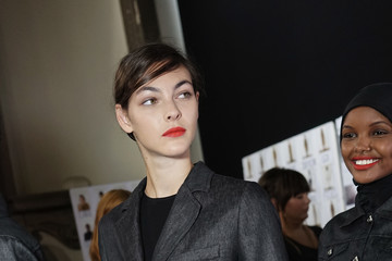 Vittoria Ceretti Max Mara - Backstage - Milan Fashion Week Spring/Summer 2018