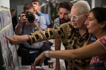 Vivienne Westwood Vivienne Westwood Red Label: Backstage - London Fashion Week SS15