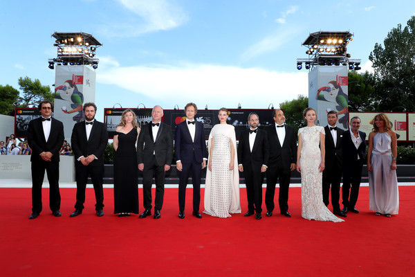 Napszallta (Sunset) Red Carpet Arrivals - 75th Venice Film Festival
