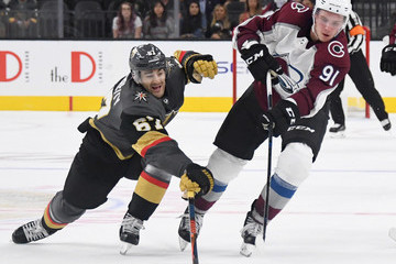 Vladislav Kamenev Colorado Avalanche v Vegas Golden Knights