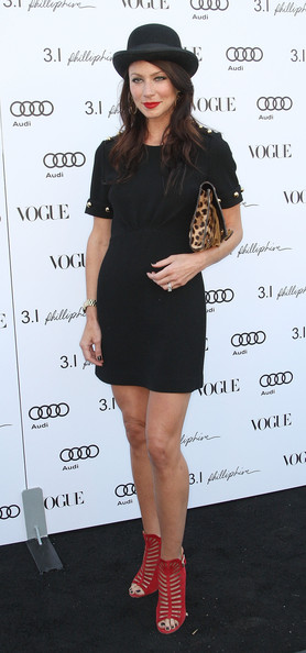 Actress Lynn Collins attends Vogue's one year anniversary party at the Phillip Lim Los Angeles store on July 15, 2009 in West Hollywood, California.