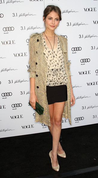 Actress Willa Holland attends Vogue's one year anniversary party at the Phillip Lim Los Angeles store on July 15, 2009 in West Hollywood, California.